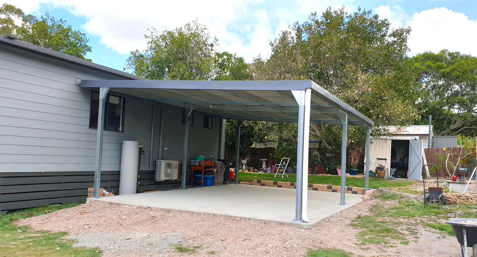 Townsville steel carports